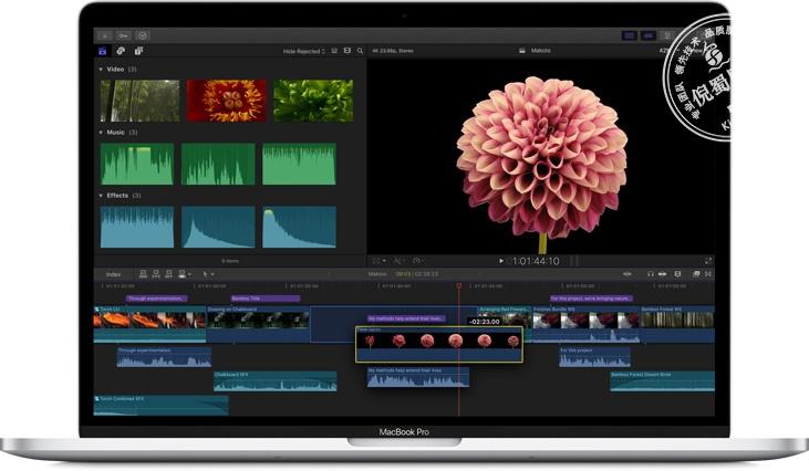 苹果视频剪辑软件 Final Cut Pro X 10.4.6 中文破解版