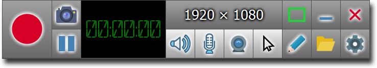 录屏软件 ZD Soft Screen Recorder v11.1.20 汉化破解版