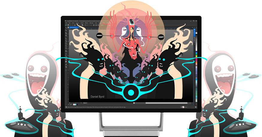 绘图软件CorelDRAW Graphics Suite 2019 For Mac中文破解版