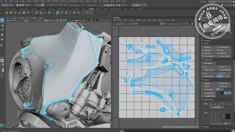 三维动画软件 Autodesk Maya 2019 中文破解版