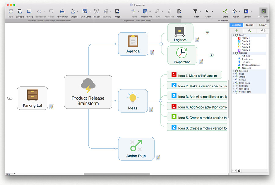 苹果思维导图 Mindjet MindManager For Mac 12.1.190 注册版