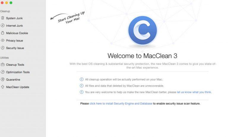 系统清理工具 MacClean For Mac v3.6.0 破解版